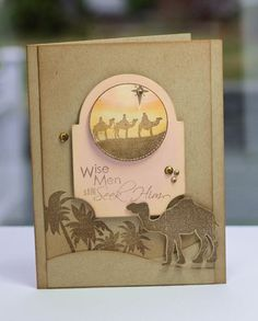 Wise Men card by Lisa Johnson for Papertrey Ink (November 2011).