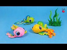 ▶ LET'S CLAY! Rainbow FISH - tęczowa RYBKA - polymer clay tutorial - YouTube