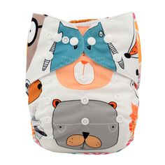 Baby Reusable & Washable The Goofy Bear Pocket Diaper, 43% discount @ PatPat Mom Baby Shopping App