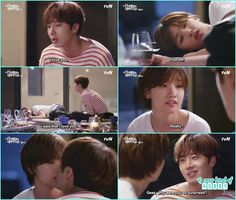 ji won  and ha won drunk kiss - Cinderella and Four Knights - Episode 8 Review