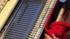 10-Stitch-Technik auf der Strickmaschine Teil 2