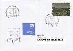 Sobrescrito circulado com carimbo 1.º dia de circulação da série de selos Apicultura Açores. Selo de 0,68€ da série EUROPA - Açores colocado em circulação a 09 de maio de 2011.