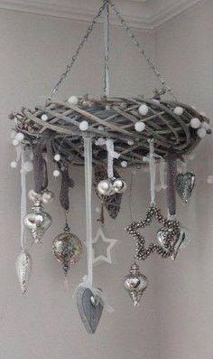 Karácsonyi dekorációs ötletek...nekem nagyon bejön ez a színvilág! 15