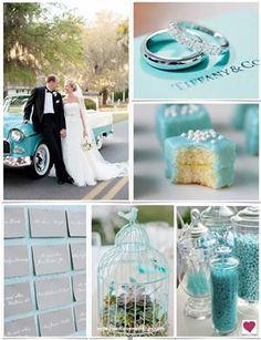 Because i want Tiffany Blue as one of my wedding colors .