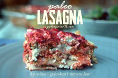 With the help of Capellos, Kite Hill cheese, and the Urban Poser's nightshade-free marinara sauce - behold PALEO lasagna!