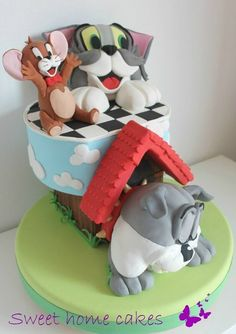Tom & Jerry cake  Cake by Sweethomecakes
