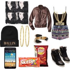 """""""becky g inspired outfit"""" by tiffanyriggins on Polyvore"""