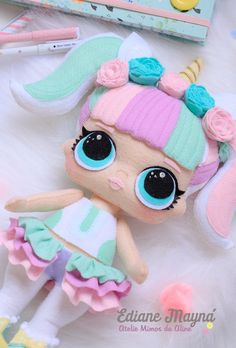 Felt Doll Patterns, Polymer Clay Embroidery, Friend Crafts, Barbie Wedding, Baby Mobile, Lol Dolls, Felt Toys, Doll Crafts, Fabric Dolls