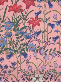 Flora Printed Wallpaper Print Wallpaper, Pattern Wallpaper, Gucci Pattern, Gucci Floral, Flora Gucci, Flora Print, Black Pink Songs, Art And Architecture, Doodle Art