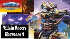 Skylanders Superchargers: (PS3) Villain Racers Showcase #1
