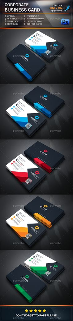 Creative Business Card Template PSD #design Download: http://graphicriver.net/item/creative-business-card/13578577?ref=ksioks