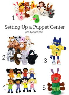 Tips for Setting Up a Puppet Center in Preschool