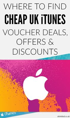 If you're looking for cheap iTunes voucher deals and discounts in the UK then you've come to the right place. Here I will round up all the iTunes offers so you don't have to spend time searching yourself.