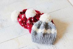 Czapeczki wełniane ;-) Knitted Hats, Knitting, Crafts, Fashion, Moda, Manualidades, Tricot, Fashion Styles, Breien