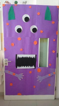 Monster! Classroom door.