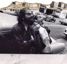 Jack Kerouac and Allen Ginsburg