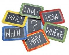 Who? What? How? Where? Why? When? - the 7 most important questions for project management