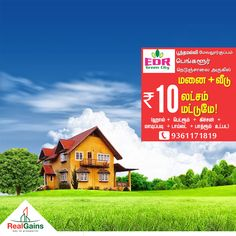 EDR Green City- DTCP approved plots Plot + 1 BHK House at just Rs.10Lakhs.  Near Poonamalle, Mevalurkuppam, Bangalore highway. Hurry! Call Today : 9364171819 | 9361171819  #EDRGreenCity #ResidentialPlot #Poonamallee #Mevalurkuppam #RealGainsPropertyDevelopers #RealGains — with Parivathi Parivathi.
