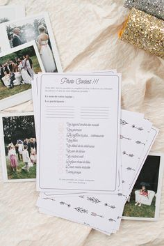 As you know, one of the keys to the success of your big day is that certain 'je ne sais quoi' of the chemistry between your Wedding Activities, Wedding Games, Wedding Events, Origami Wedding, Diy Wedding, Wedding Day, Wedding Tips, Engagement Party Invitations, Diy Invitations