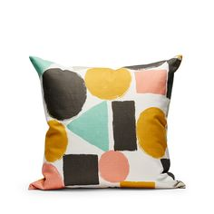 Decoration cushion 50x50cm - Geometrics - Multi