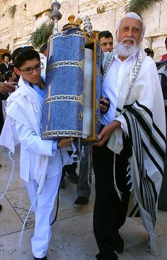Torah scroll - Bar Mitzvah Celebration Jerusalem