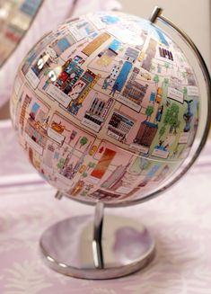 I WANT this NYC globe. Sadly, it doesn't appear to be available anymore. :(
