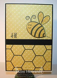 Hi Bee by The Stamps of Life, via Flickr