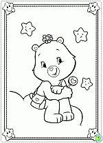Similar Ideas Care Bear Coloring Page