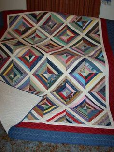 Quiltville's Quips & Snips!!: String Quilting Primer! perfect tutes on many different string quilts...all beautiful