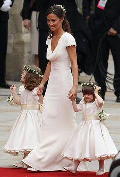 casamento Real, Pippa Middleton e daminhas da realeza
