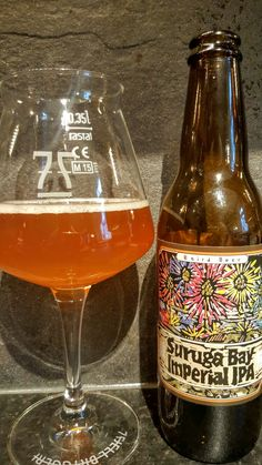 Baird Beer Suruga Bay Imperial IPA. Watch the video beer review here www.youtube.com/realaleguide   #CraftBeer #RealAle #Ale #Beer #BeerPorn #BairdBeer #BairdSurugaBayImperialIPA #SurugaBayImperialIPA #SurugaBay #Baird #JapaneseCraftBeer #JapaneseBeer