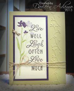 FS311~CASing Angela by darleenstamps - Cards and Paper Crafts at Splitcoaststampers