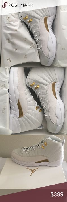 ec307afe9d5a03 Air Jordan 12 OVO White Authentic BNDS Air Jordan 12 OVO White Authentic  Brand New Never Worn 873864 102 Priority Shipping With Confirmed Tracking  Double ...