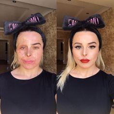 Tu peux être pour ou contre, tu peux l'utiliser tous les jours… Makeup Tips, Beauty Makeup, Hair Makeup, Makeup Products, Beauty Skin, Dry Skin On Face, Power Of Makeup, Hooded Eye Makeup, Brown Blonde Hair