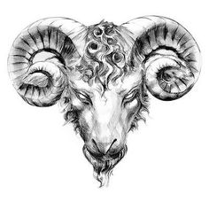 Aries Taurus Tattoo of Ram Head, Big Bull Horns Tattoo P, Model Tattoo, Tattoo Drawings, Ares Tattoo, Bull Tattoos, Body Art Tattoos, Sleeve Tattoos, Widder Tattoos, Aries Ram Tattoo