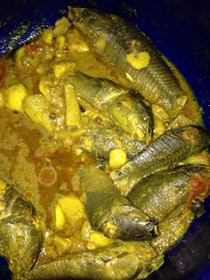 Curry fish / kwi kwi massala / Suriname Food