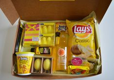 A Little Box of Sunshine Love the color theme idea! Would be the perfect little gift box for my two besties!