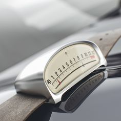A Unique, Cleverly Designed Watch That Is Inspired By Vintage Car Speedometers