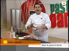 Fabio Morisi nos enseña cómo cocer la pasta y pasos a seguir después para que nos quede al dente.