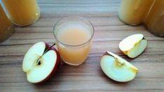 Sütőtök-alma rostoslé házilag, tartósítószer nélkül - Zöldnek lenni jó! Honeydew, Cantaloupe, Naan, Glass Of Milk, Panna Cotta, Fruit, Drinks, Ethnic Recipes, Drinking