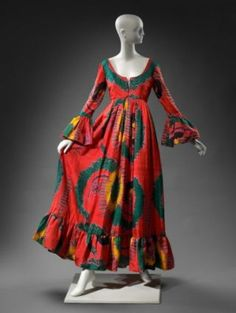 1970 Womans dress, Geoffrey Beene from the Museum of Fine Arts, Boston