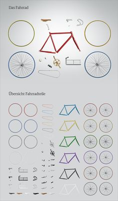 myownbike.de - individual singlespeed & fixie bikes by dieTaikonauten , via Behance