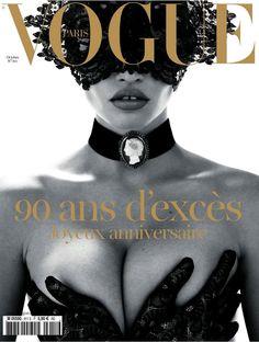 Bal Masqué - Vogue Paris, October 2010 (90th anniversary issue). Photo: Mert & Marcus. Model: Lara Stone.