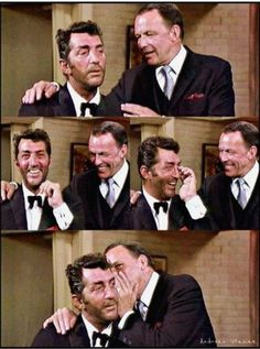 Pals Dean Martin & Frank Sinatra