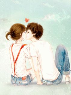 ♫♪♫ Chinthya Dyana♫♪♫: Anime Couple Korea Gif and Jpg