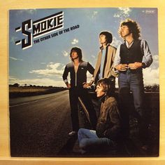SMOKIE The other Side of the Road - Vinyl LP Do to me Belinda London is burning
