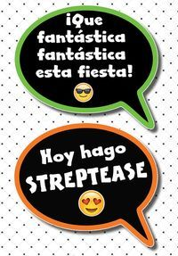 Cartelitos para Fiestas Photobooth 70s Party, Fiesta Party, Party Mode, Mexican Party, Ideas Para Fiestas, Team Bride, Photo Booth Props, Birthday Party Decorations, Holidays And Events