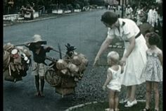 1930s - Street Vendors Sell An Array Of Exotic Toys In The Colonial Days Of Java, Indonesia, 1930s. Stock Footage Video 4237769 - Shutterstock