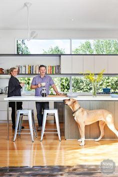 Take a peek inside the (very stylish!) family home of Masterchef judge Gary Mehigan