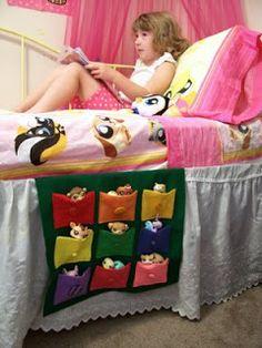 Bolseros para la cama de los niños